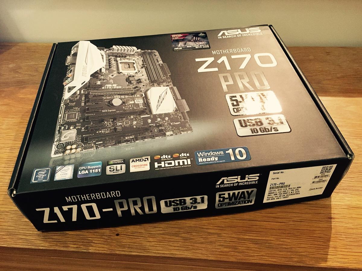 ASUS Z170 Pro