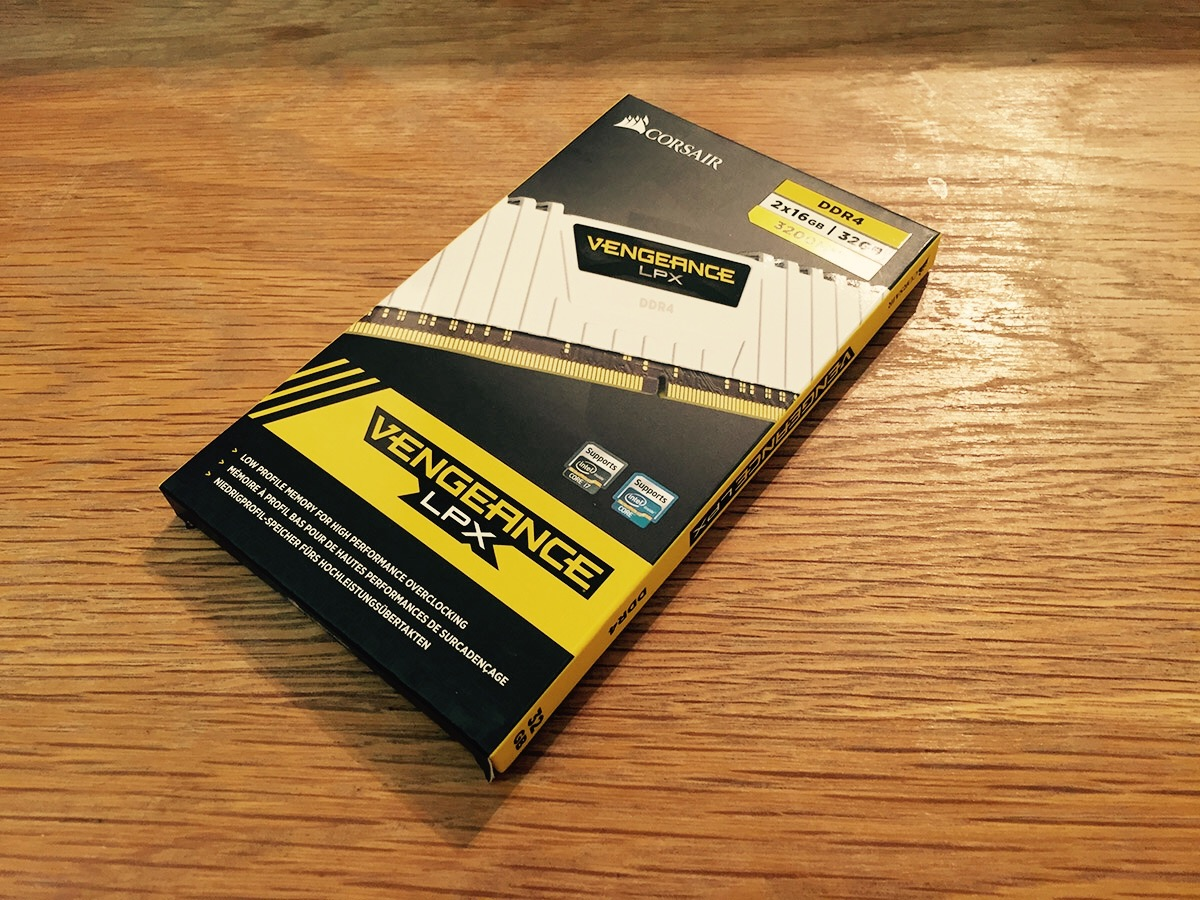 Corsair Vengeance LPX 32GB (2 × 16GB) DDR4-3200